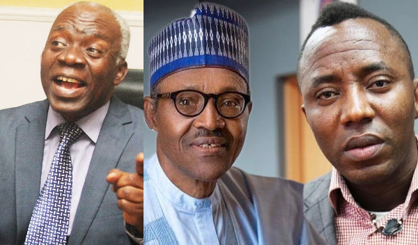 'If Sowore Is Charged, Buhari Must Appear In Court As Well' - Femi Falana