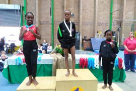 8-year-old Nigeria Wins Gold Medal At The African Gymnastics Championship In Pretoria South Africa