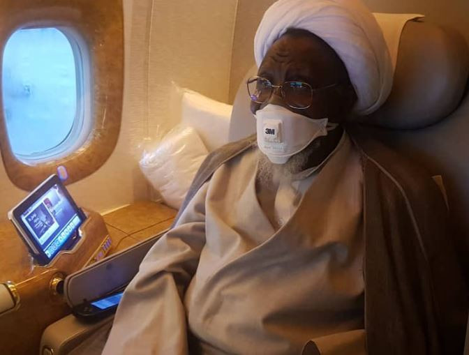 5d51fca7f2074 - El-Zakzaky, Wife Leaving India Because They Were Denied Preferred Doctors