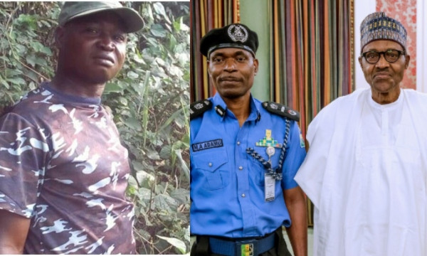 Police Officer Who Insulted Buhari, Osinbajo And IGP, Arrested