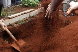 Dead Body Of A Kenyan Ofiicer Exhumed To Retrieve Uniform
