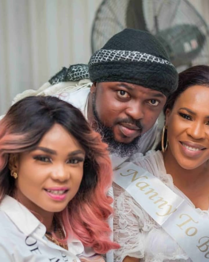 Toke Makinwa, Iyabo Ojo, Others Storm Toyin AImakhu's Baby Shower