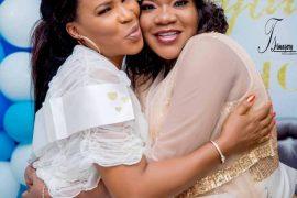 Faithia Balogun Congratulates Toyin Aimakhu On The Birth Of Her Son
