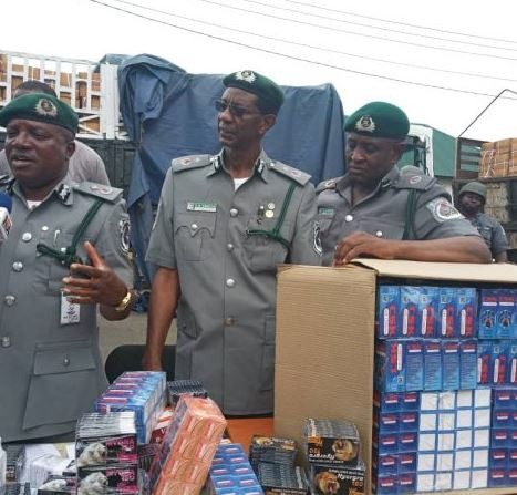 Image result for Customs Seizes Tramadol Valued At N5B In Lagos