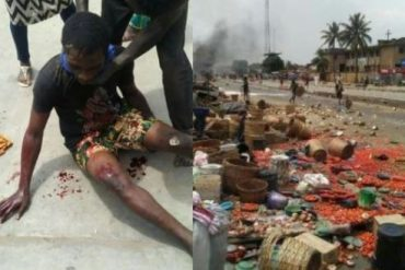 Many Injured As Yoruba, Hausa Youths Clash In Lagos (Photos)
