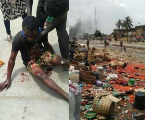 5d5978e24b503 - Photos From The Violent Clash Between Hausa And Yoruba Community In Lagos