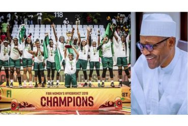 President Buhari Congratulates D'Tigress For Defeating Senegal To Emerge 2019 FIBA Afrobasket Championship