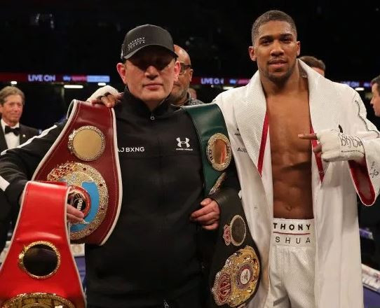Rob McCracken, Anthony Joshua