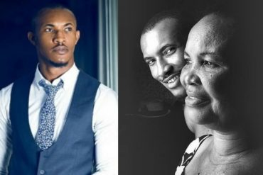 Actor Gideon Okeke Celebrates Mother As She Turns A Year Older