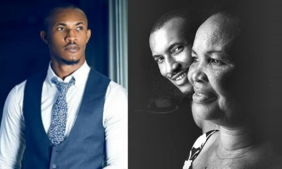 Gideon Okeke And Mom