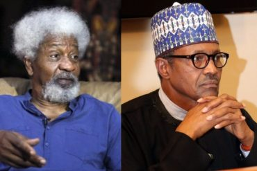 Buhari Using Security Agencies To Silence Nigerians: Wole Soyinka