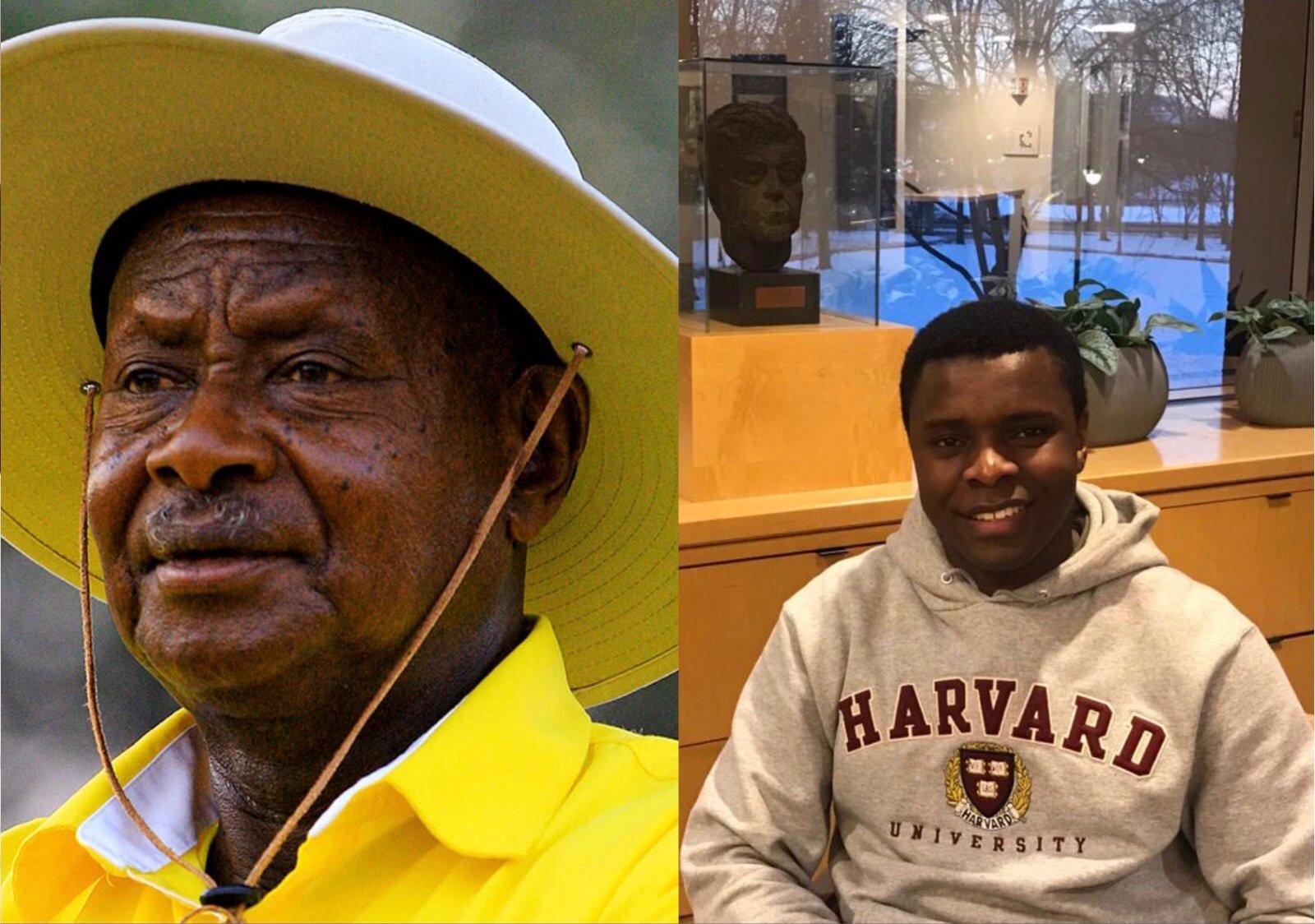 President Yoweri Museveni, Hilary Seguya Taylor