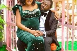 Toyin Abraham and her husband, Kolawole Ajeyemi