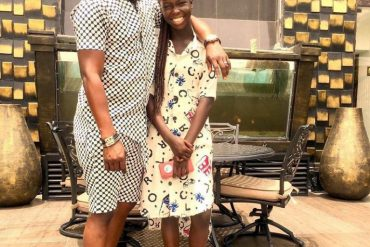 Photos Of Toyin Abraham's Husband And His Daughter Breaks The Internet
