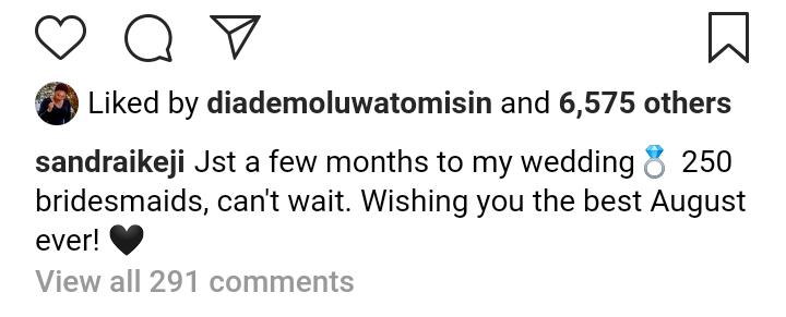 Sandra Ikeji's post
