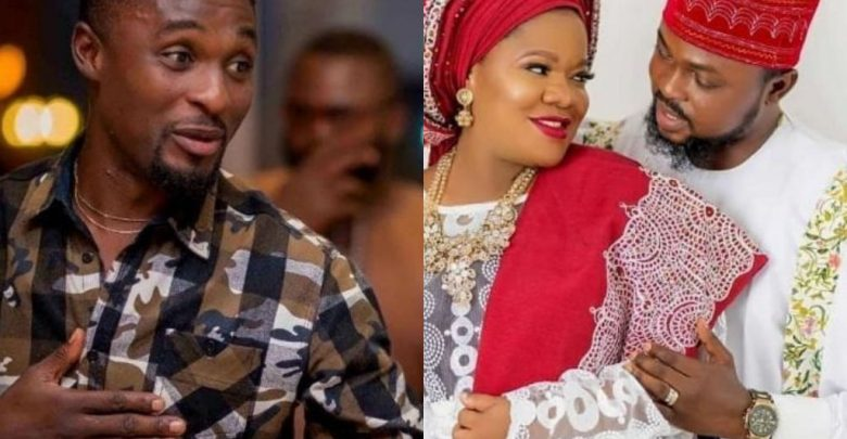 Adeniyi Johnson shares picture to prove that hes finer than the new man Toyin Abraham married 780x405 - Toyin Abraham's Ex-Husband Congratulates Her On Baby's Arrival