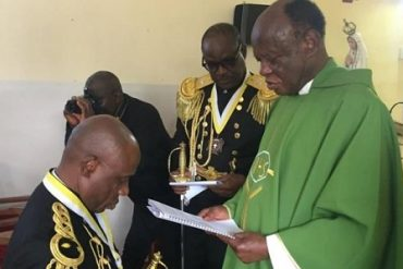 Rotimi Amaechi Conferred With Highest Catholic Knight Rank (PHOTOS)