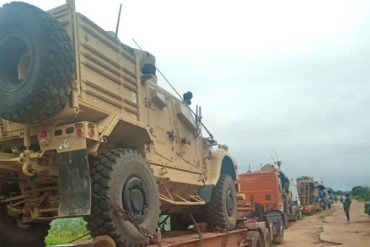 Army Intercepts Strange Military Equipment In Adamawa