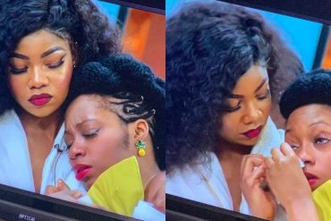 Khafi Weeps As Fuckanizer Boyfriend, Gedoni Leaves BBNaija House [VIDEO]
