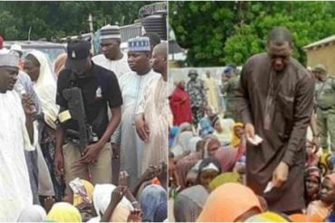 Borno Governor Uses Quran To Place Curse On People Diverting IDPs Food Items