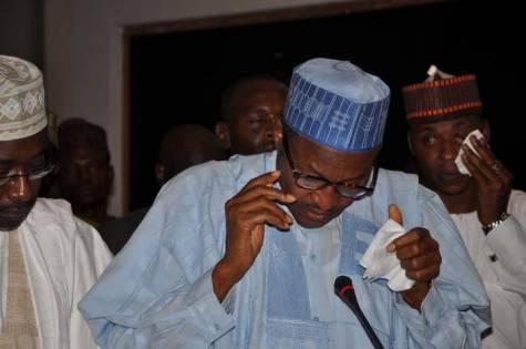 Buhari wept - 'Nigeria's Population Explosion Is Frightening' – President Buhari