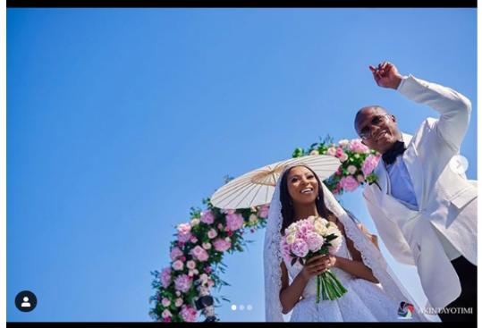 Media Girl Stephanie Coker And Her Husband Olumide Aderinokun Celebrate Their Second Wedding Anniversary