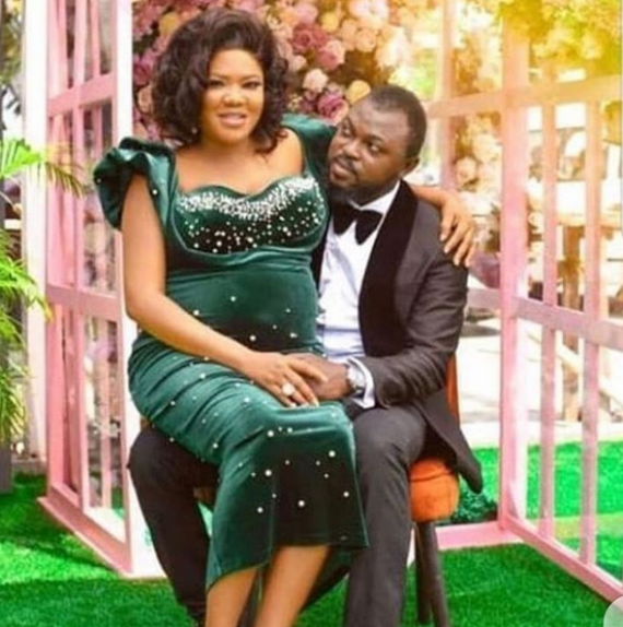 Toyin Aimakhu Reportedly Welcomes Baby Boy