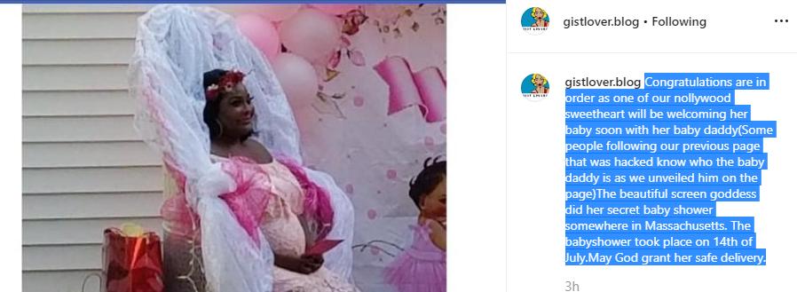 EXCLUSIVE! 'Nollywood Actress Ronke Odusanya Heavily Pregnant