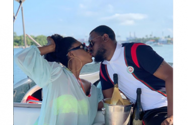 Becca And Husband Celebrate First Year Wedding Anniversary