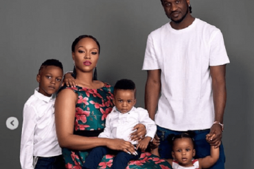 Paul Okoye's Wife, Anita Reveals Her Children's Characters