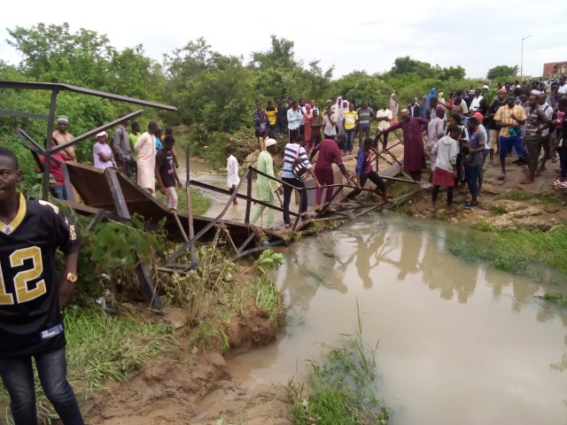 Collapsed metal bridge kills four ATBU's students