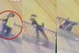 Couple plunge 50ft to their deaths while hugging and kissing (video)