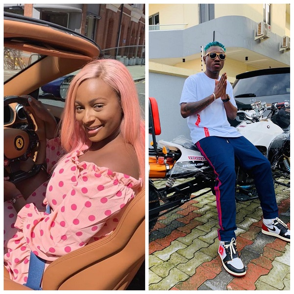 DJ Cuppy and Zlatan Ibile