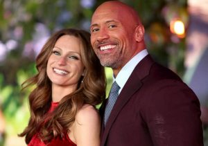 DWAYNE 300x211 - Actor 'The Rock' Finally Marries His Long-Time Girlfriend, Lauren Hashian