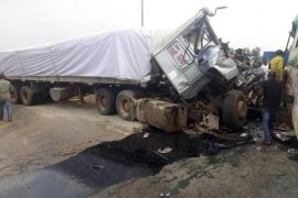 Dangote truck kills 3