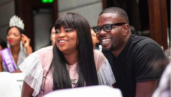 Funke Akindele and Hubby