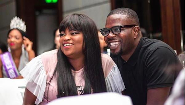 Funke Akindele and Hubby