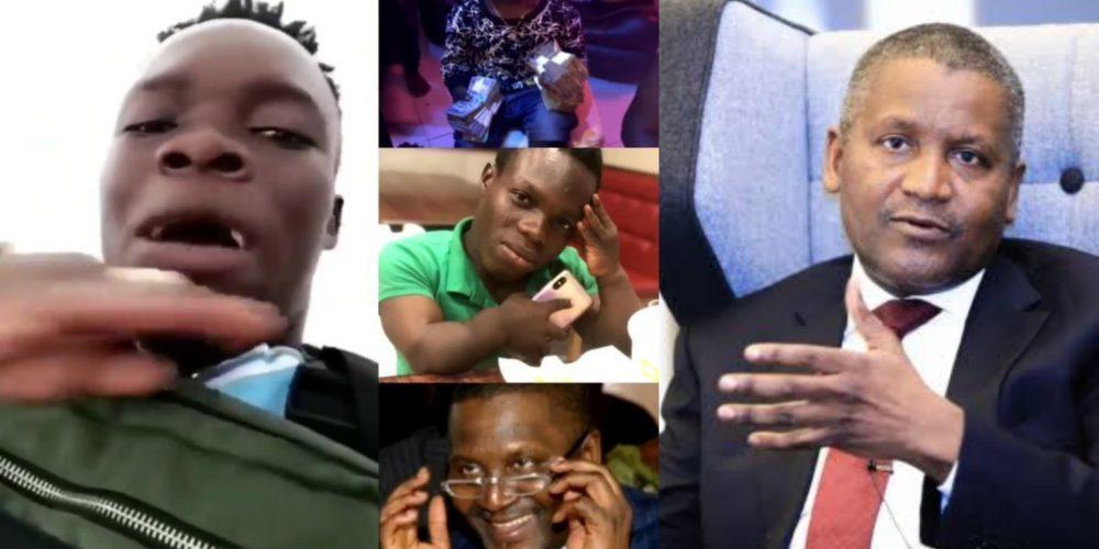 Ghanaian Yahoo Boy and Dangote