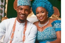 Gideon Okeke and his wife