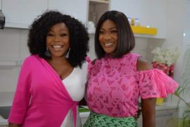 Omawumi and Mercy Johnson-Okojie