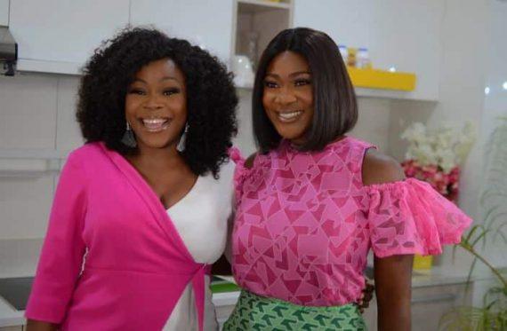 Omawumi and Mercy Johnson-Okojie