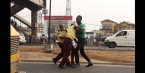 Man, Wife Beat LASTMA Officer Trying To Wrongfully Arrest Them
