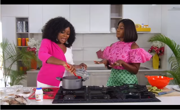 "Omawumi and Mercy Johnson - ""I Won't Leave My Husband If He Cheats On Me"", Says Omawumi"