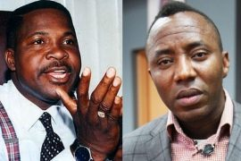 Mike Ozekhome and Omoyele Sowore