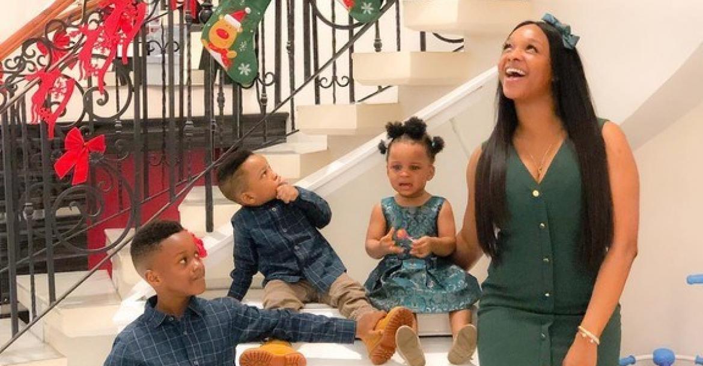 Paul Okoye's wife and children
