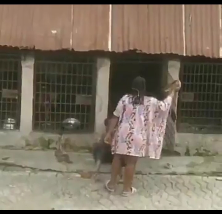 Screenshot 20190804 1853552 - Toyin Abraham Reacts To Video Of Woman Flogging Boy And Putting Him In A Cage With Dogs