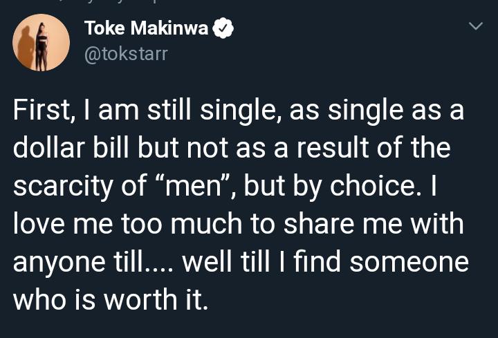 Toke Makinwa