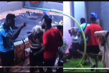 BBNaija2019: Frodd, Sir Dee Pull Birthday Prank On Esther