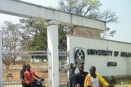 UniAbuja Main entrance