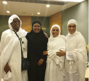 Aisha Buhari and first lady of three other African Countries